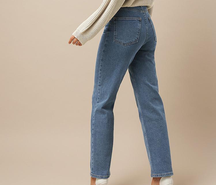 Lækre blå jeans til kvinder