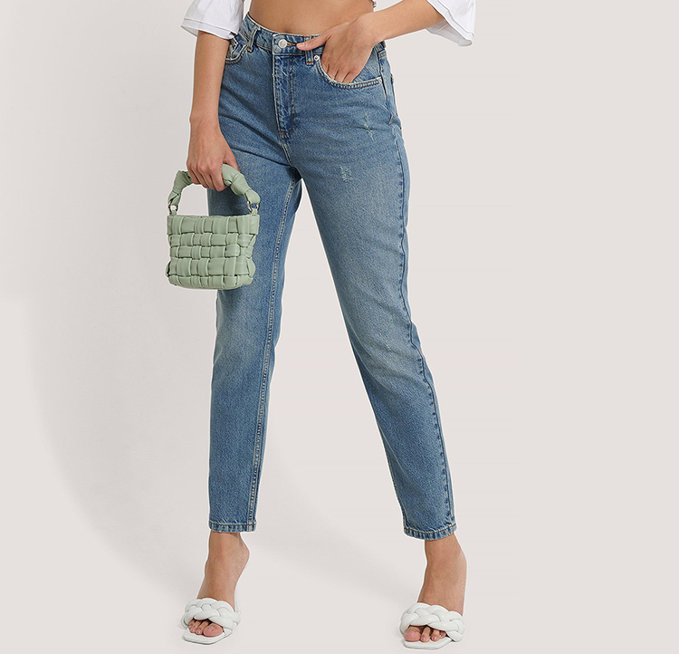 Lækre højtaljede jeans