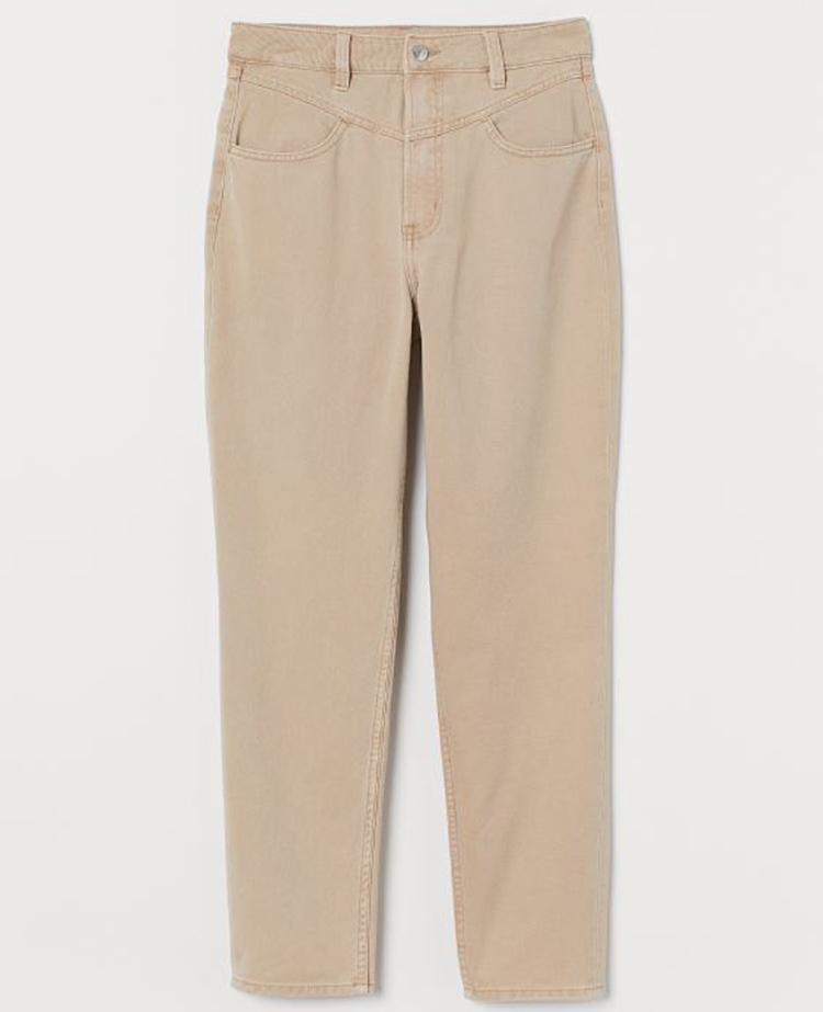 Lækre lyse jeans til den pæreformede figur
