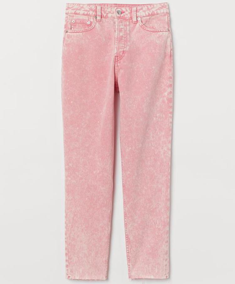 Lækre lyserøde jeans til kvinder