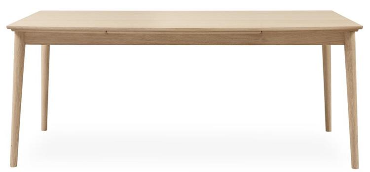 Smukt minimalistisk spisebord i træ