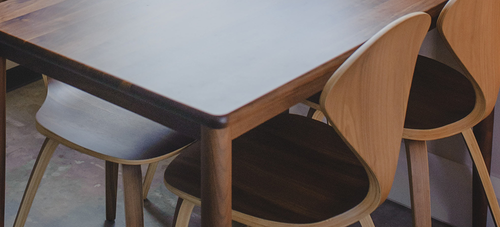 firkantede spiseborde