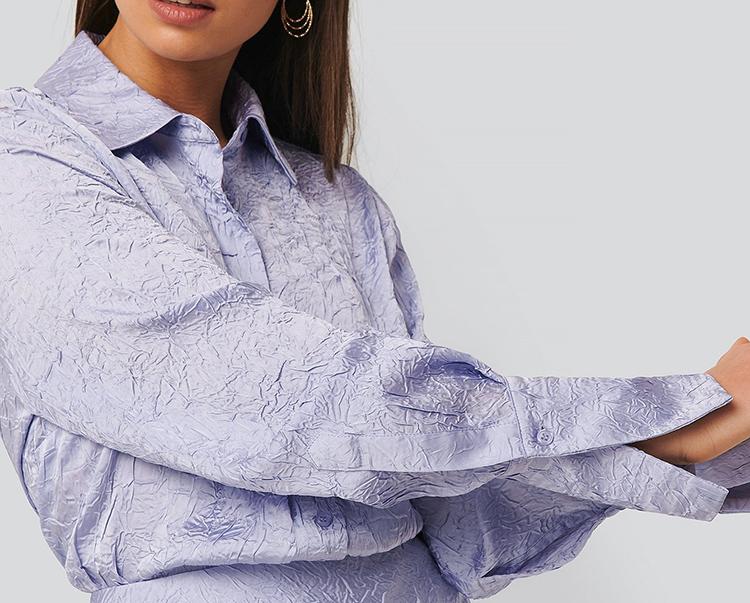 Ægte 80'er skjorte til kvinder