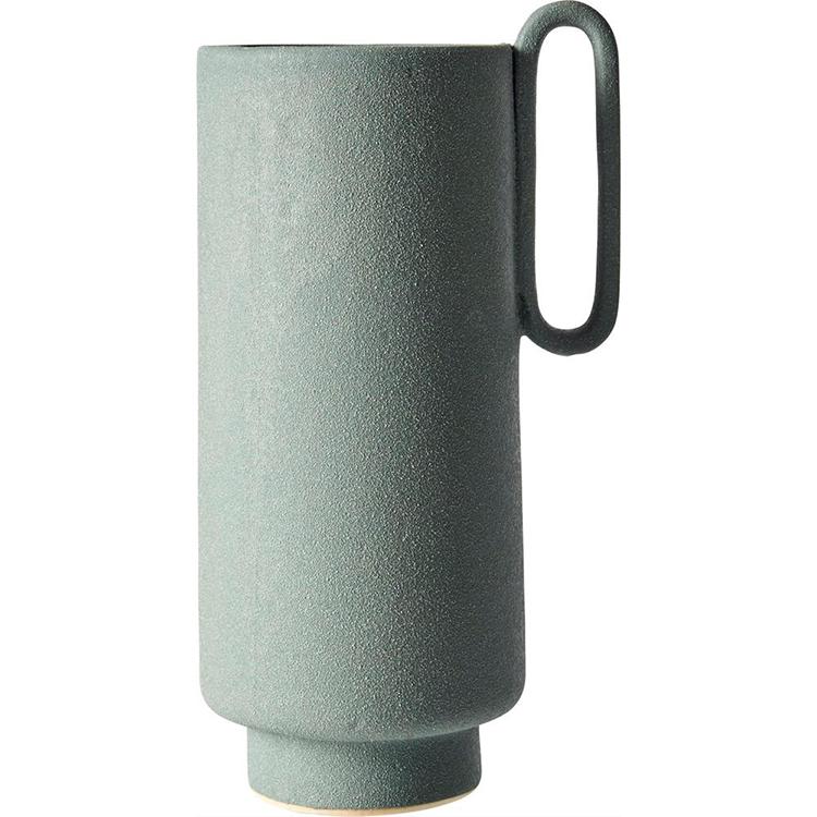 Flot moderne vase i grøn