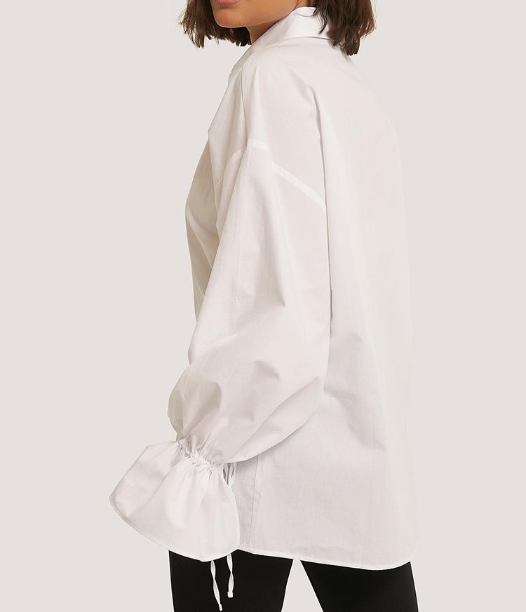 Luftig hvid skjorte til kvinder