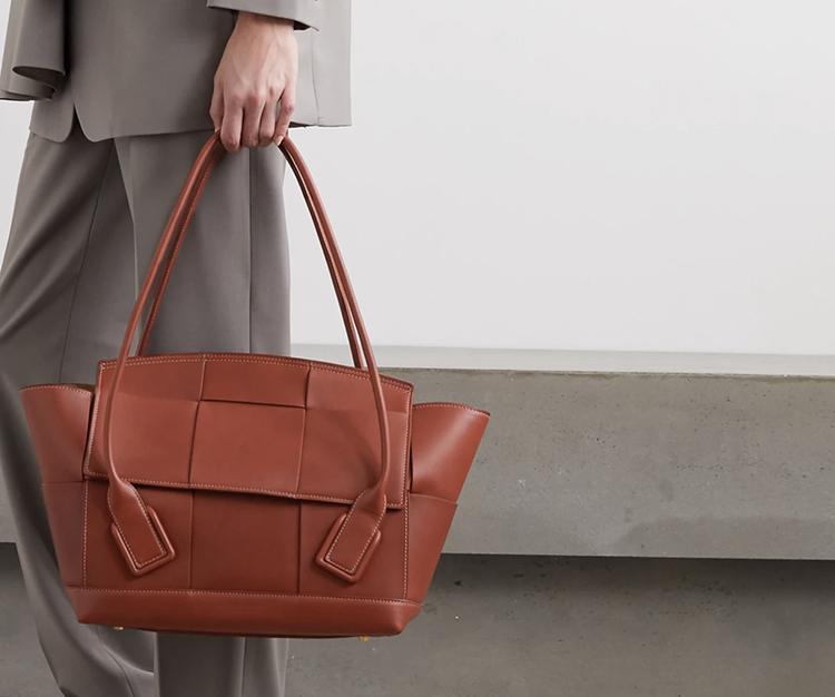 Smuk lædertaske i udsøgt kvalitet