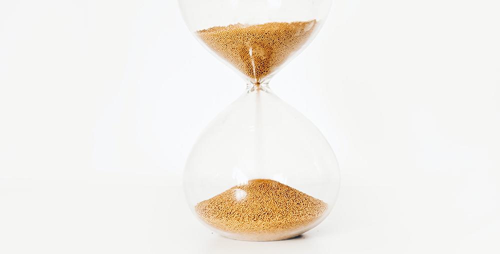 timeglas figur