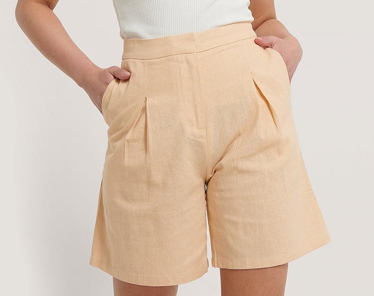 Cremet Orange Jakkesæt shorts