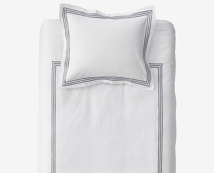 Allergivenligt sengetøj i kvalitetspræget bomuldssatin