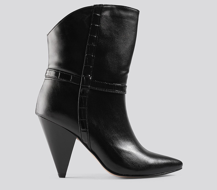 Anderlede og voluminøse støvler til kvinder