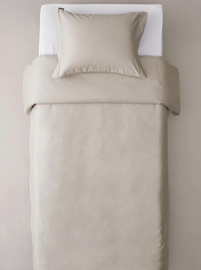 Beige sengetøj i udsøgt kvalitet