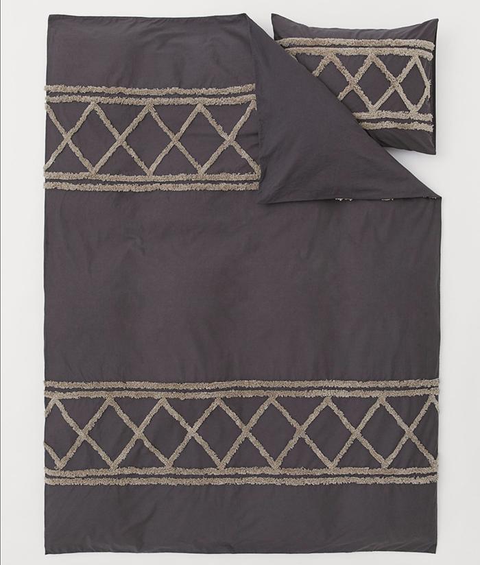 Boho inspireret sengetøj i bomuld
