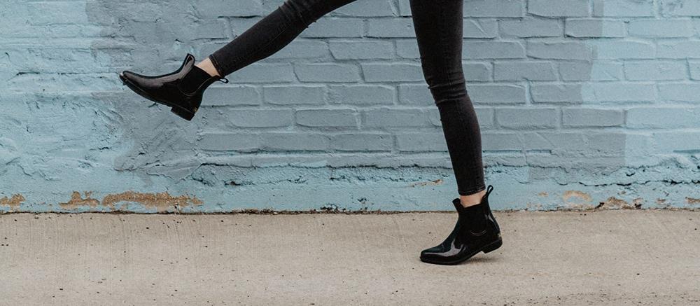 Flade støvler til kvinder