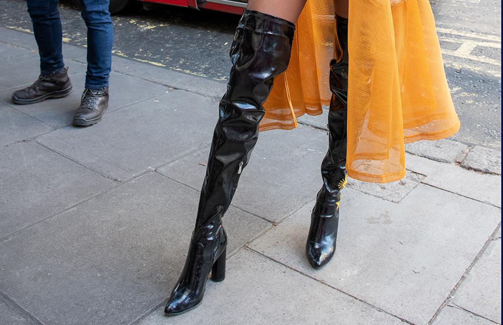 Knæhøje støvler til kvinder