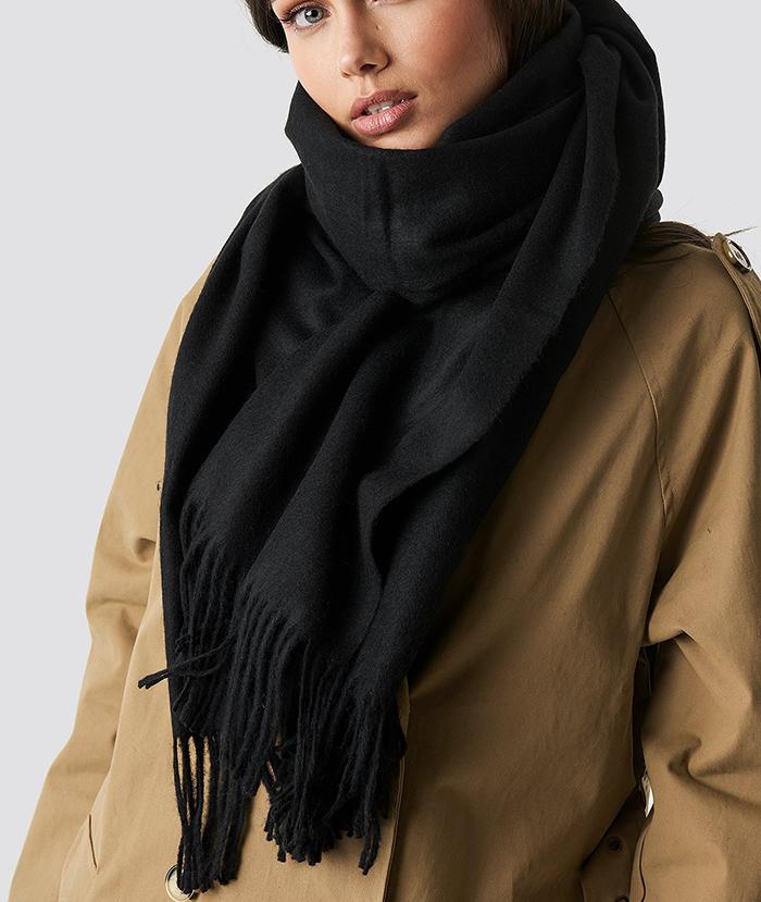 Lækker tykt halstørklæde til kvinder
