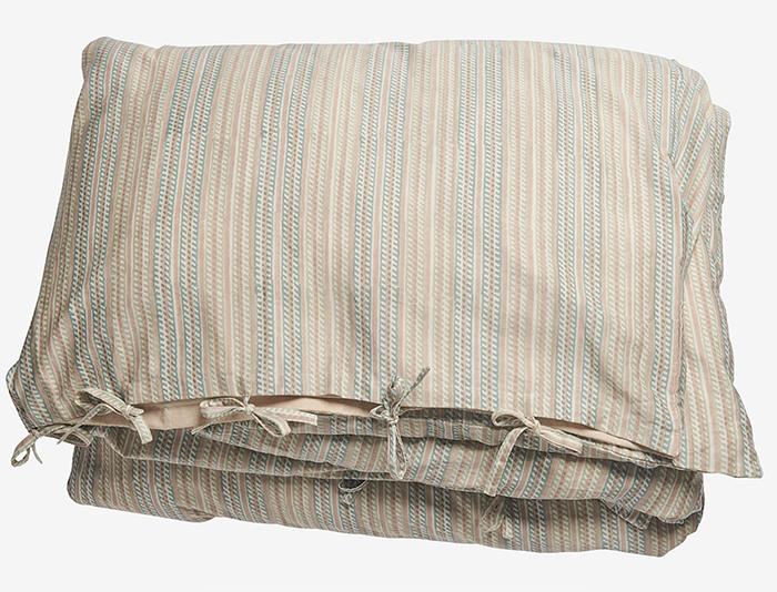 Lækkert sengetøj i traditionel indisk blokprint