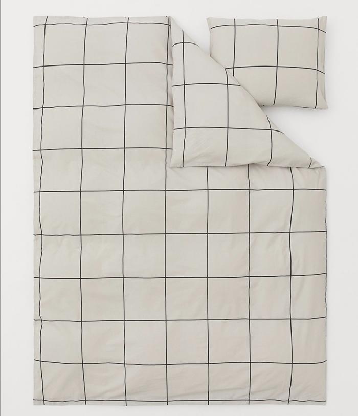 Lækkert terne sengetøj