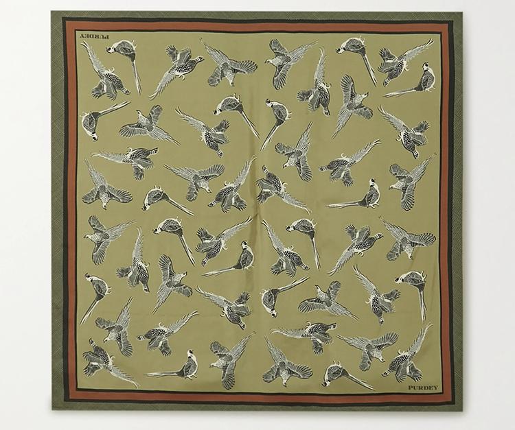Luksuriøs tørklæde i ægte silke