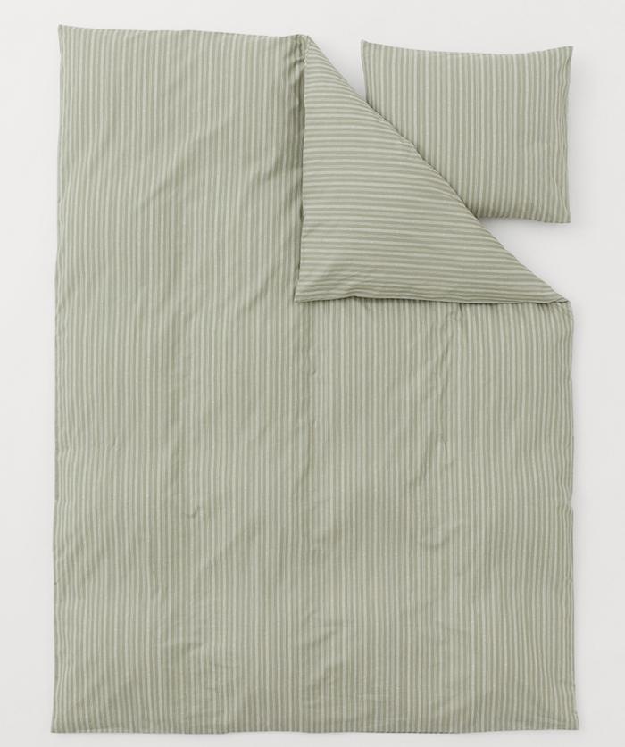 Mintgrønt sengetøj i vaske bomuld