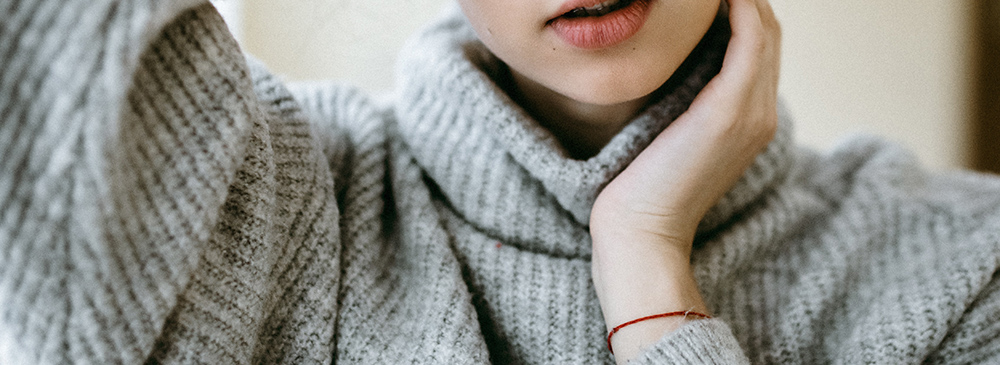 Tykke Striktrøjer Til Kvinder