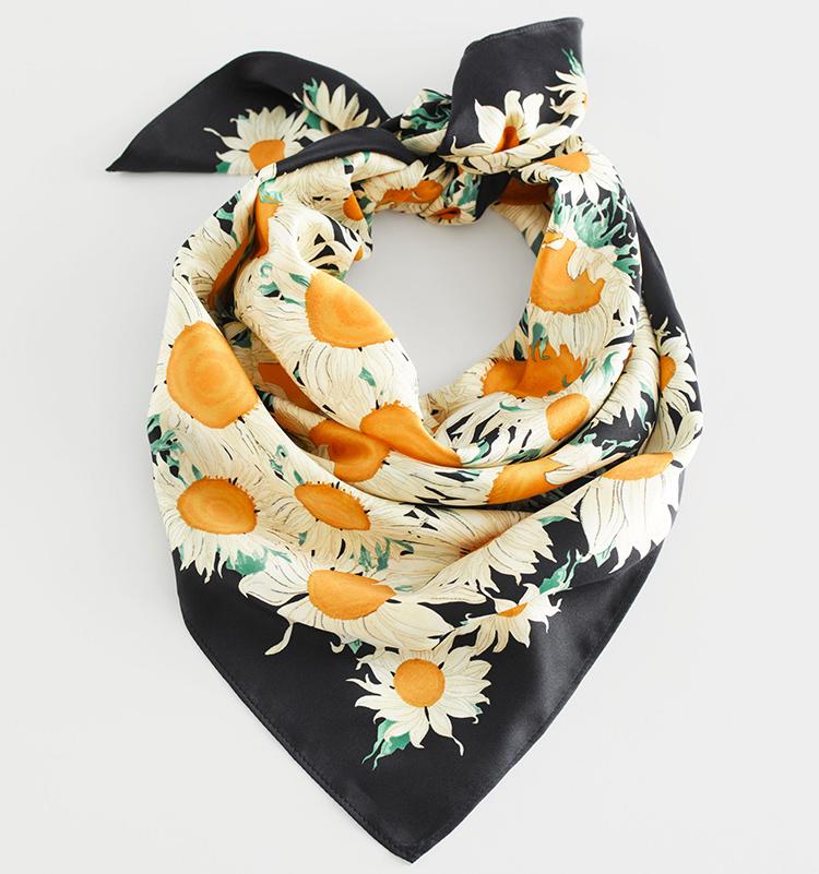 solsikker tørklæde