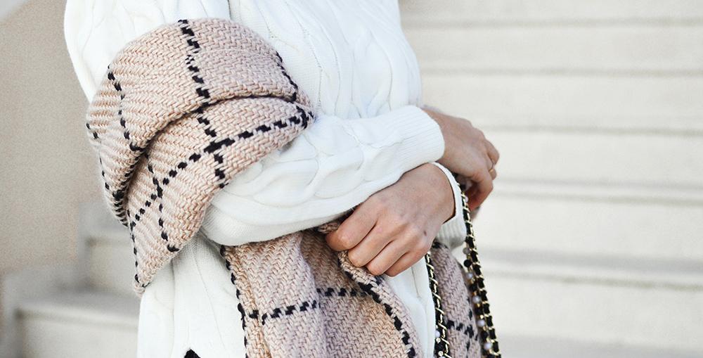 tykke tørklæder til kvinder