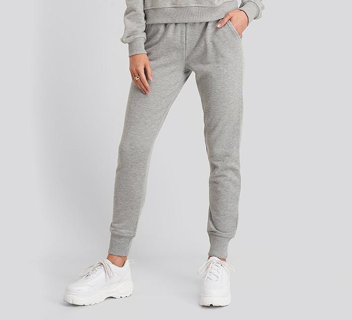 Behagelige grå sweat pants