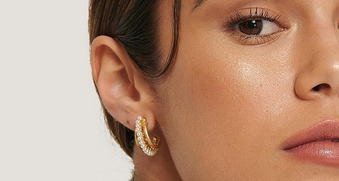 Elegante øreringe med volume