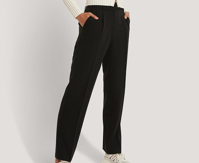 Flotte sorte habit bukser til kvinder