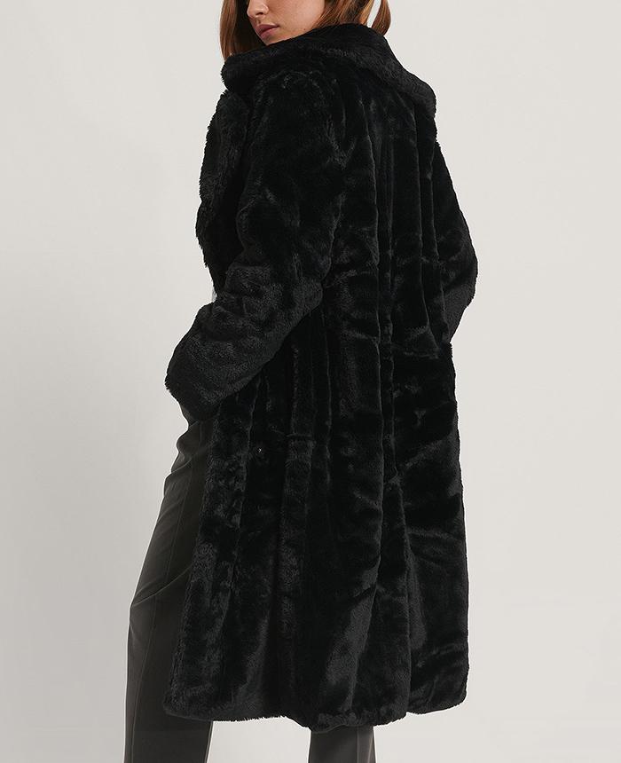 Lække pelsfrakke til vinterbrug