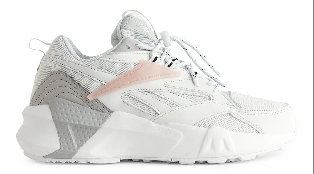 Behagelige hvide sneakers fra Reebok
