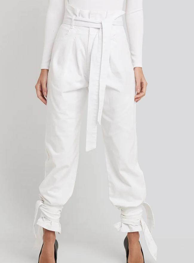 Billige og Anderledes hvide jeans til damer