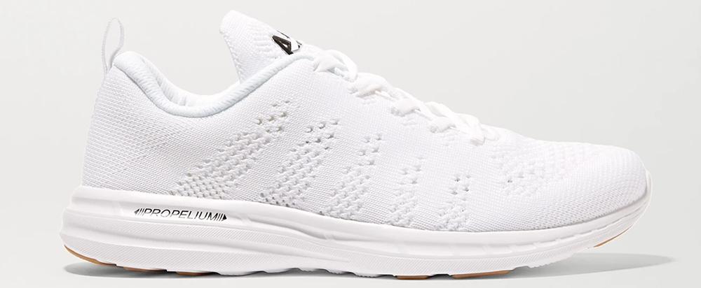 Kvalitetspræget hvide sneaker til damer