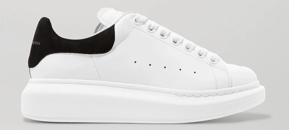 Kvalitetspræget hvide sneakers i toplækkert design