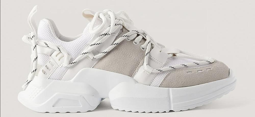 Lækre billige hvide sneaker til damer