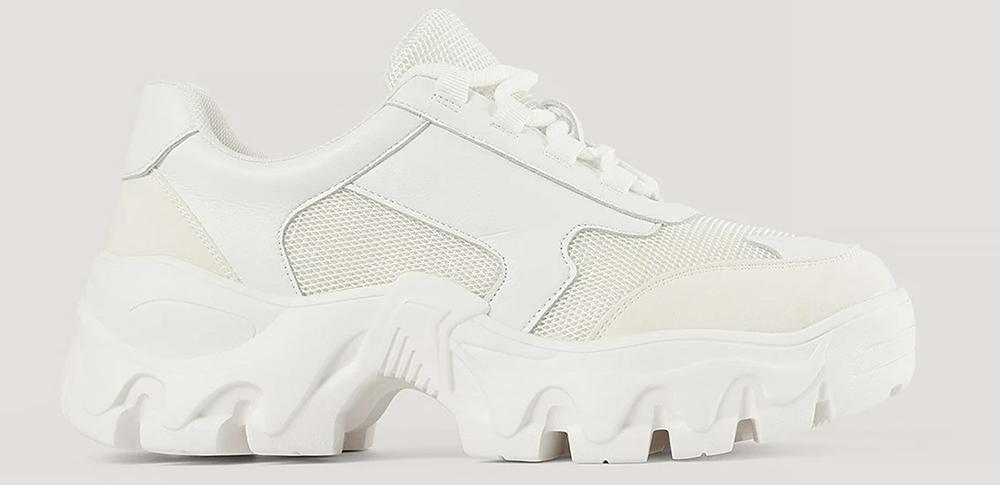 Lette hvide sneakers til damer