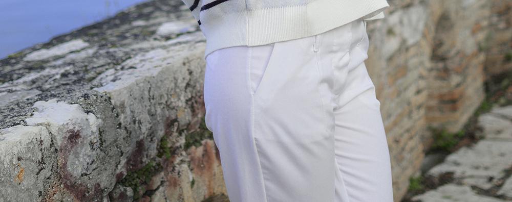 hvide bukser dame habitbukser