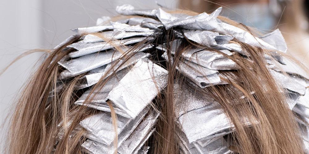 tørt hår grundet kemiske behandlinger