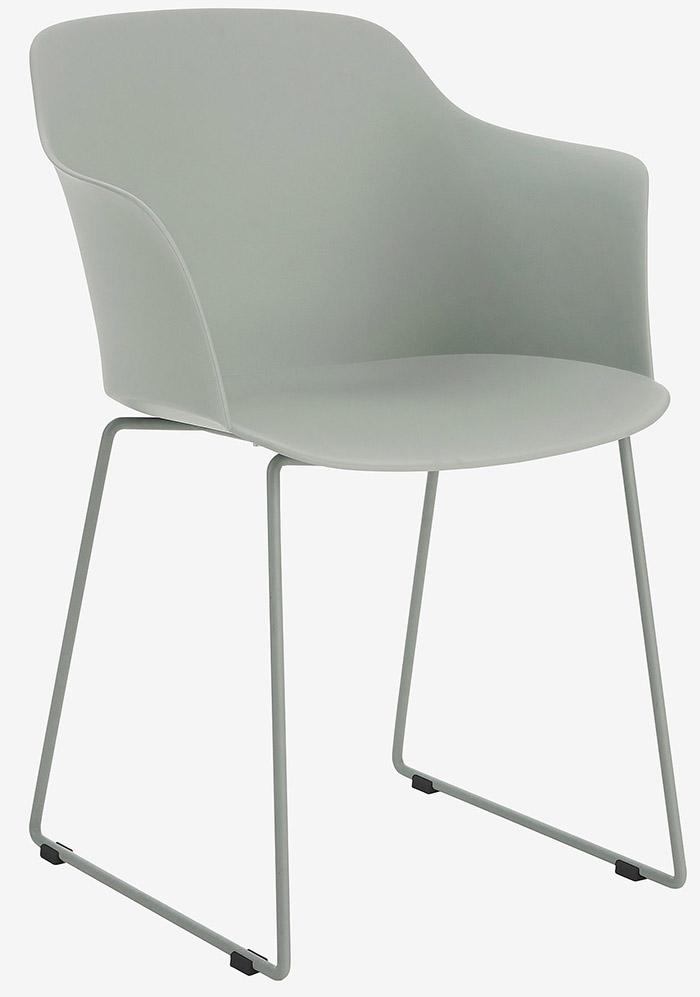 Behagelig og billig spisebordsstol i mintgrøn