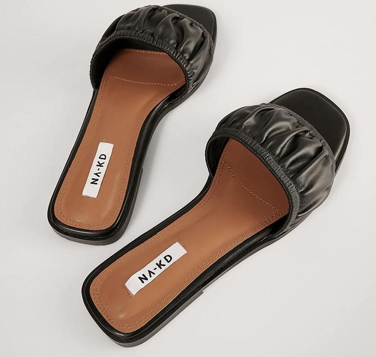 Flotte prisvenlige flade sandaler