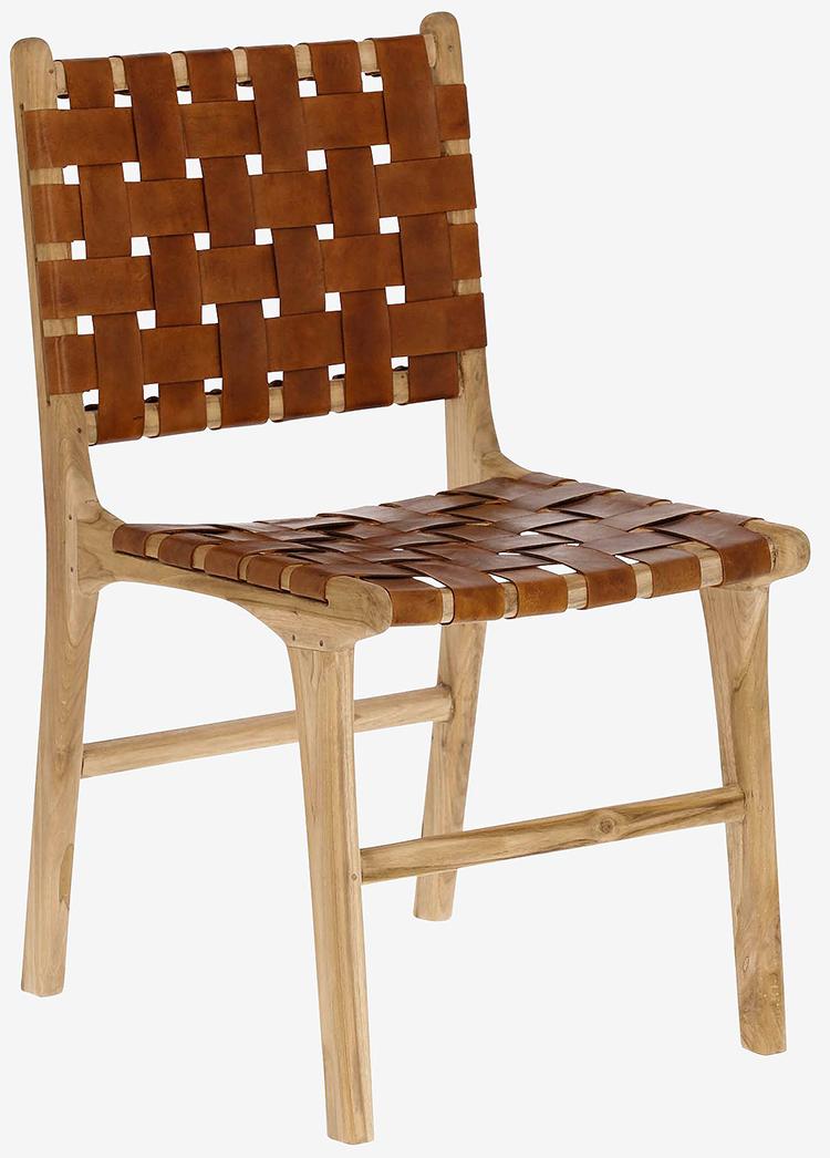 Luksusstole i unikt design og kernelæder