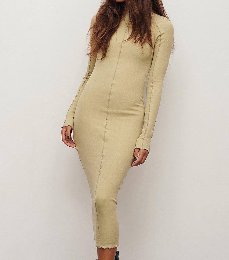 Billige kjole i økologisk stof