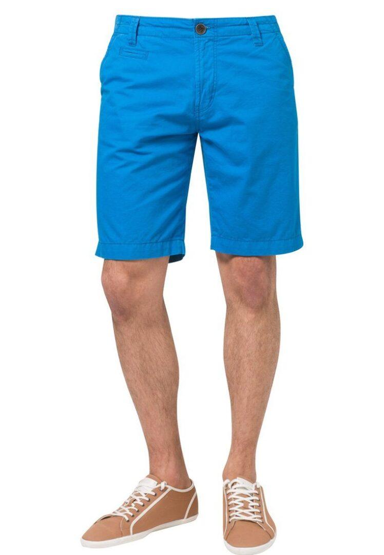 Billige blå shorts