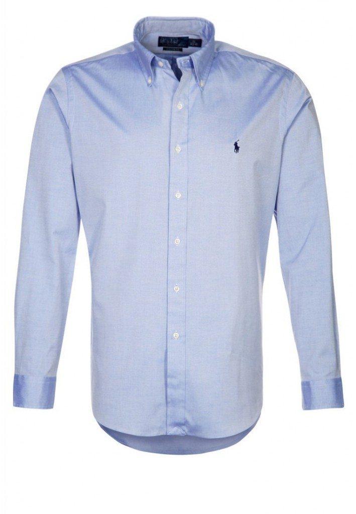 Formen skjorte i blå fra ralph lauren