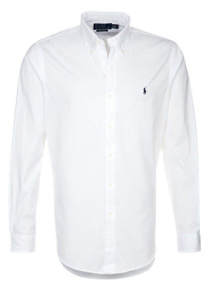 Formel skjorte i hvid ralph lauren