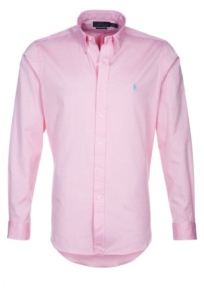 formel skjorte i pink ralph lauren