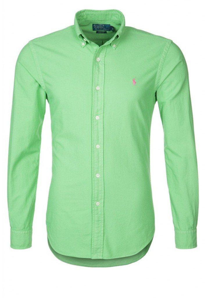 flot grøn skjorte ralph lauren