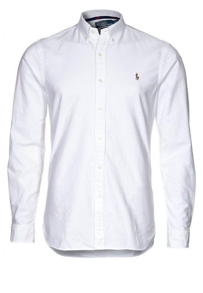 Hvid skjorte fra Ralph Lauren