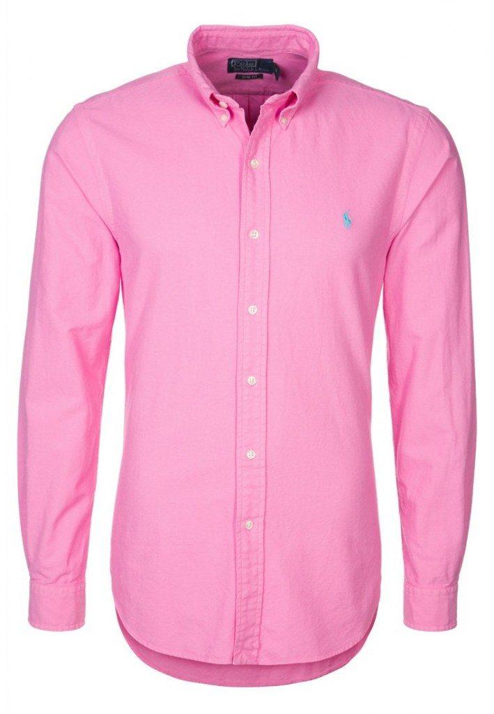 pink skjorte ralph lauren