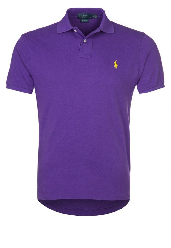Polo T-Shirt Lilla